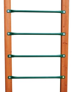 Pack Green Steel Monkey Bar Ladder Rungs 29 Long
