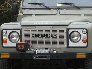 Land Rover Series Defender Stainless Grill Set