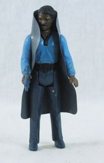 Vintage Star Wars Lando Calrissian Action Figure Complete with Weapon