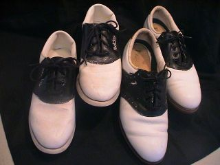 LOT Vintage unisex man woman Golf Shoes 11N Foot Joy 11N Lady Fairway