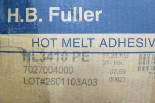 HB Fuller Hot Melt Adhesive HL3410 PE 38 lbs –Bourg Horizon Duplo
