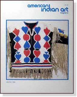 American Indian Art Magazine from Winter 1986