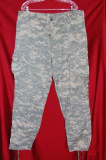 Military ACU Digital Camo Pants Trouser NSN 8415 01 519 8415 Sz SXXS