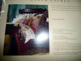 Ralph Lauren Lake House Bed Skirt