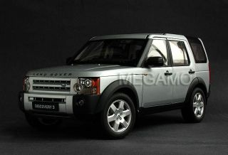 18 Autoart Land Rover Discovery 3 Silver 74801