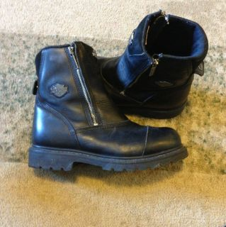 Harley Davidson Motorcyle Boots Mens 9 Lightly Used