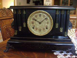 Beautiful Antique Sessions Mantle Clock Made in USA