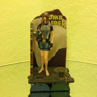 Lara Croft Tomb Raider in Wet Suit 9 inch Figure Mint