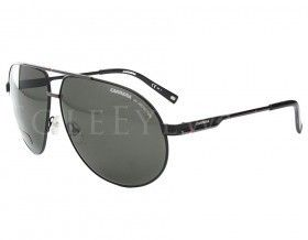 Carrera 6 Col 832x1 832 x1 Black Large Metal Aviator Sunglasses