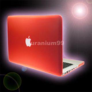 13 3 Mac MacBook Pro Matte Hard Case Plastic Shell Laptop Notebook RED