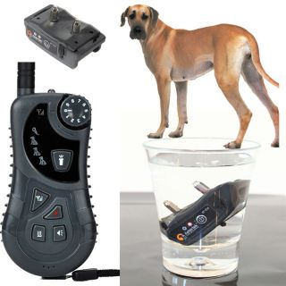 AETERTEK Small Medium Large Remote Dog Pet Training Shock Collar Auto