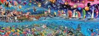 Life Worlds Largest Jigsaw Puzzle 24 000 Pieces New
