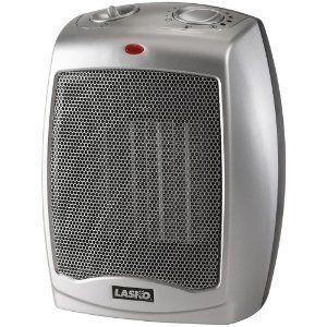 Lasko 754200 Ceramic Heater with Adjustable Thermostat Brand New