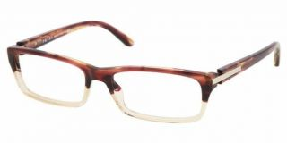 Eyeglasses Light Tortoise w Clear Plastic Frames PR05NV RWX1O1 Large