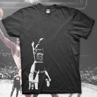 High Quality T Shirt 23 MJ Magic Johnson Larry Bird NBA Air