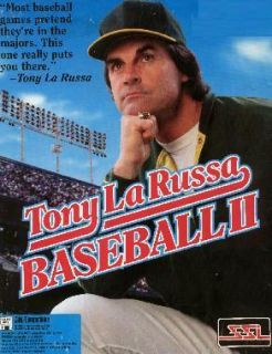 Tony LaRussa Baseball II XP Vista Windows 7 Install