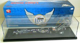 New Larry Dixon 1999 Miller Lite Harley Davidson 1 24 Diecast Dragster