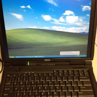 Dell Latitude C840 Laptop Notebook Pentium 4 M 1 6 GHz 512 MB 60 GB