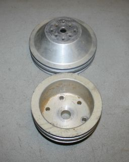 SBC Alum Pulley Set Dirt Late Model IMCA Race Car