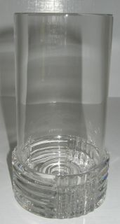 Val St Lambert Laslo Crystal Candle Holder