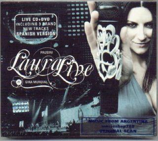 CD DVD Laura Pausini Live World Tour Spanish Version