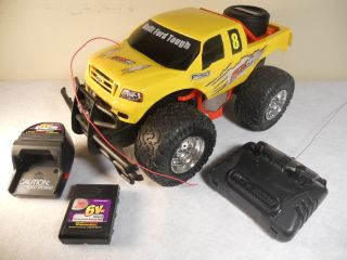 New Bright Remote Radio Control RC Yellow Ford F 150 Truck