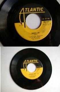 45 RPM Tweedle Dee Lavern Baker Gliders Doo Wop Jukebox Record