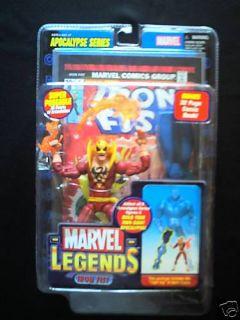 Marvel Legends Series 7 Iron Fist Variant Figure New