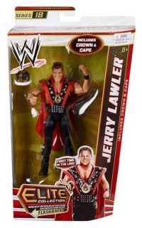 Jerry The King Lawler WWE Elite wave series 18 action figure Mattel