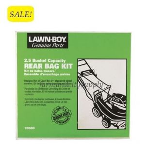 Lawn Boy 89906 Mower Rear Bag Kit 3 1 CU ft for 21 Staggered Wheel