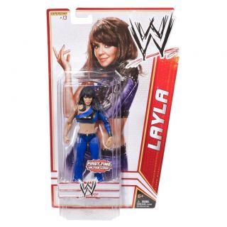 Layla WWE Mattel Basic Series 15 Action Figure Toy 13