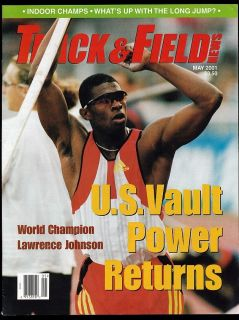 2001 Track Field News Pole Vault Lawrence Johnson World Cross Country