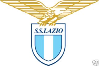 Lazio Italy Soccer Football Car Bumper Sticker 5X4