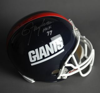 Lawrence Taylor Signed/ Autographed New York Giants F/S Helmet JSA