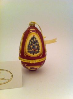 Ornament Egg Box Mr Christmas Valerie Parr Hill Ornamental Egg