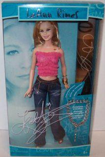 Barbie Leann Rimes Doll w Poster and Bracelet