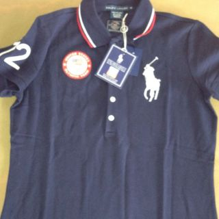 POLO RALPH LAUREN LIMITED EDITION London 2012 OLYMPIC Team SHIRT Navy