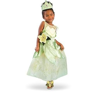 Disney Deluxe Princess Frog Tiana Dress Costume 4