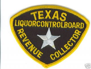 Law Enforcement Texas Liquor Control Board Patch Badge