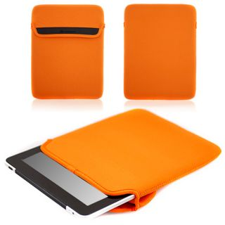 CaseCrown Neoprene Sleeve Case for Le Pan II Tablet Orange