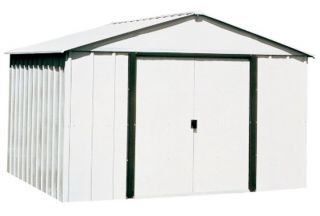 Storage Shed Lawn Landscape Garden Tractor Mower Equipment