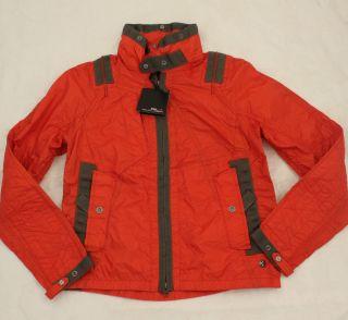 Ralph Lauren RLX Womens Red Ski Rain Jacket Coat S