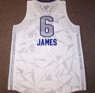 Lebron James Adidas 2011 All Star Swingman Jersey XL