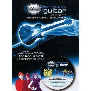 New Disney Hannah Montana HSM Learn to Play Guitar DVD