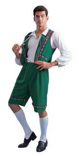 Bavarian German Lederhosen Oktoberfest Costume Swiss Alpine Green