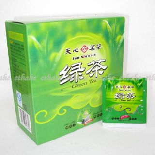 Chinese Compact Green Tea Bag Cha Unground 50pcs 1G03