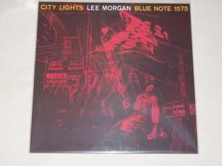 Lee Morgan ~ CITY LIGHTS ~ BLP 1575 *BlueNote* TEST PRESSING * MONO