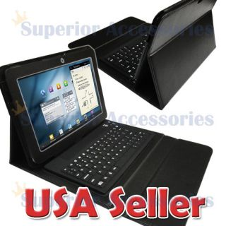 Leather Bluetooth Keyboard Case Stand Samsung Galaxy Tab 10 1 P7510
