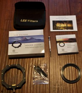 Lee Filters Holder System Foundation Kit With 77mm Wide Angle Lens