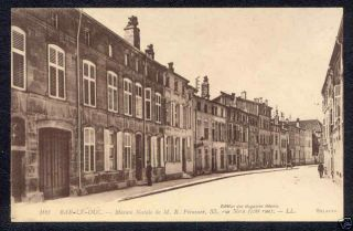 Vintage Bar Le Duc France Carte Postale Postcard